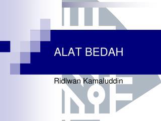 ALAT BEDAH