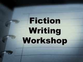 The          Elements of Fiction:  A General Introduction
