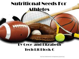 Nutritional Needs For Athletes