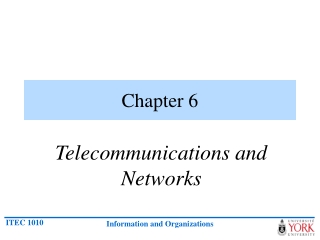 Computer to Computer Networking and Telecommunications
