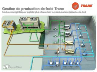 Gestion de  production de froid Trane