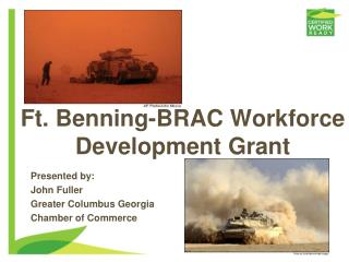 Ft. Benning-BRAC Workforce Development Grant