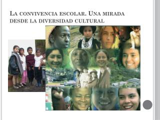 La convivencia escolar. Una mirada desde la diversidad cultural