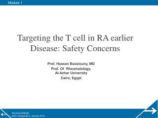 Prof. Hassan Bassiouny, MD Prof. Of  Rheumatology, Al-Azhar University Cairo, Egypt