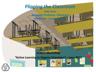 Flipping the Classroom Bob Rossi Associate Professor, Chemistry Gloucester County College