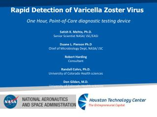 Rapid Detection of  Varicella  Zoster  Virus