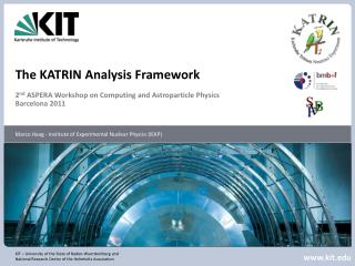 The KATRIN Analysis Framework