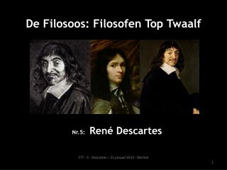 Nr.5: Ren�  Descartes