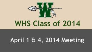 WHS Class of 2014