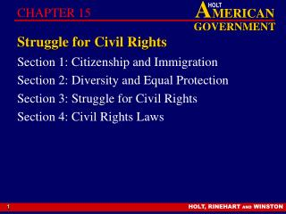 Struggle for Civil Rights