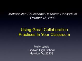 Using Great Collaboration Practices In Your Classroom