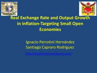 Real Exchange  Rate  and Output  Growth  in  Inflation-Targeting  Small Open  Economies
