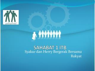 SAHABAT 1 ITB