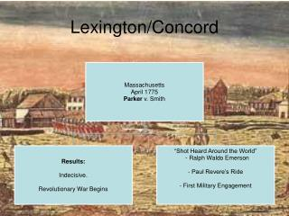 Lexington/Concord