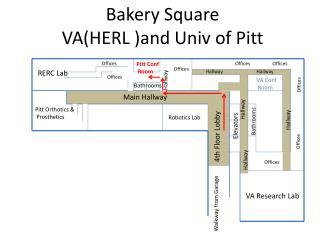 Bakery Square  VA(HERL )and Univ of Pitt