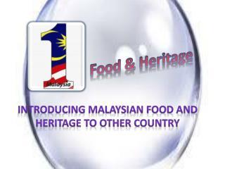 Food  & Heritage
