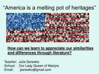 How can we learn to appreciate our similarities and differences through literature?