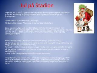Jul p� Stadion