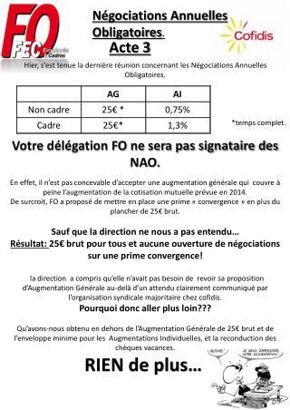 Négociations Annuelles Obligatoires .