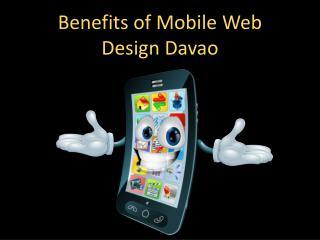 Benefits of Mobile Web Design Davao