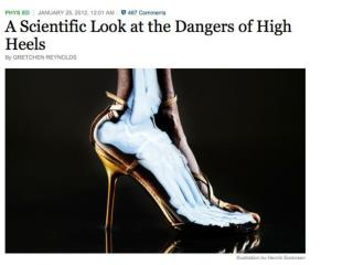 Long-Term High-Heel (HH) Use