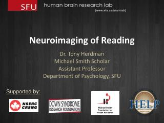 Neuroimaging of Reading