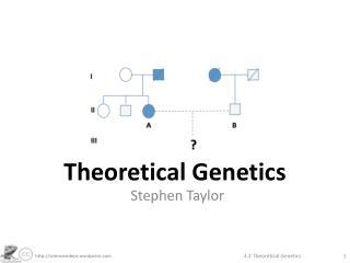 Theoretical Genetics