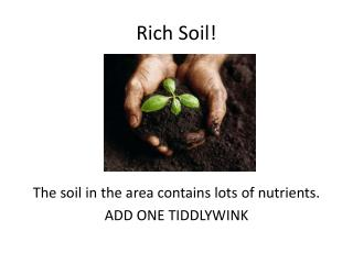 Ppt the all american slurp powerpoint presentation id for Rich soil definition