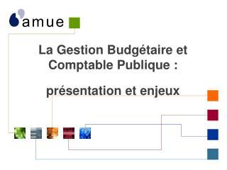 L a Gestion Budgétaire et Comptable Publique : présentation et enjeux