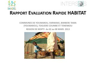 Rapport Evaluation Rapide HABITAT
