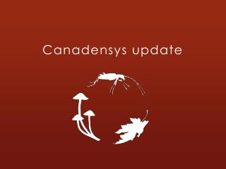 Canadensys update