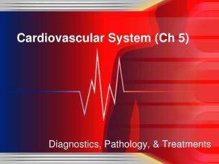 Cardiovascular System ( Ch  5)