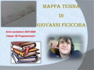 Mappa tesina  di  Giovanni Ficicchia