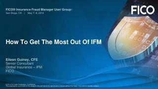 How To Get The Most Out Of IFM
