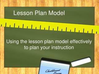 Lesson Plan Model