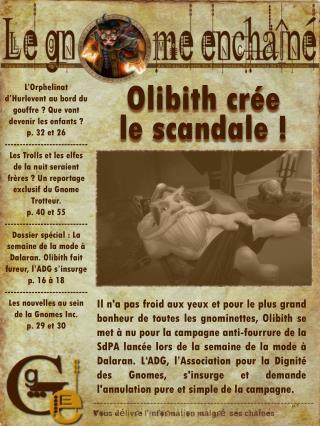 Olibith  crée  le scandale !