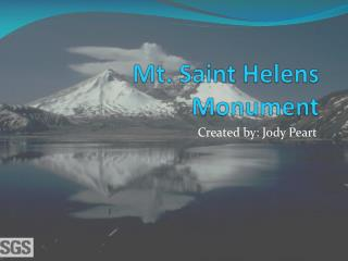 Mt. Saint Helens Monument