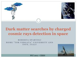 Dark matter searches by charged cosmic rays detection in space