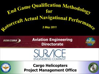 Cargo Helicopters Project  Management Office