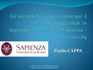 Paolo CAPPA