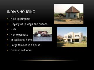 India's housing