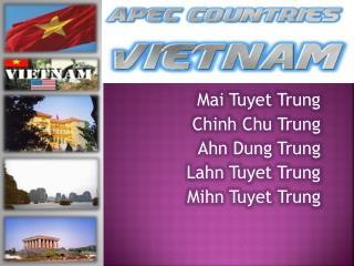 Mai Tuyet Trung Chinh  Chu Trung Ahn  Dung Trung Lahn Tuyet Trung Mihn Tuyet Trung