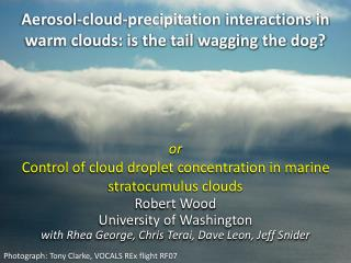 Aerosol-cloud-precipitation interactions in warm clouds: is the tail wagging the dog?