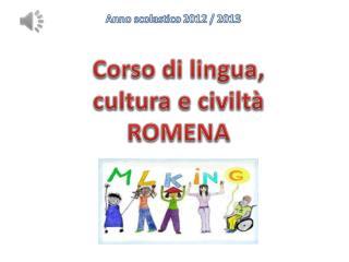Anno scolastico 2012 / 2013