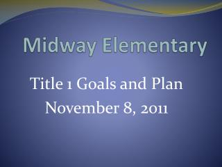 Midway Elementary