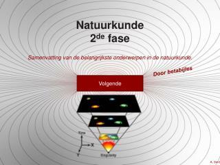 Natuurkunde 2 de  fase