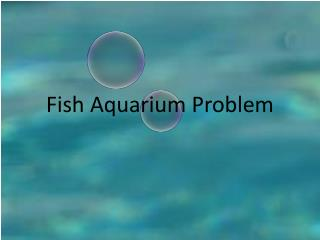 Fish Aquarium Problem