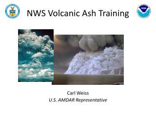 NWS Volcanic Ash Training