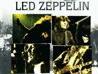 Robert Plant, Jimmy Page, John  Bohnam and John Paul Jones