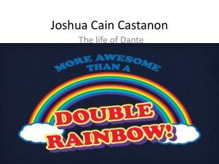 Joshua Cain  Castanon